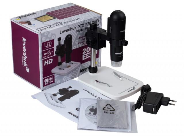 Digitální mikroskop levenhuk dtx wifi kč